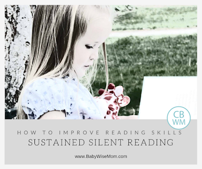 How To Improve Reading Skills Through Sustained Silent Reading. Great for preventing summer setback.