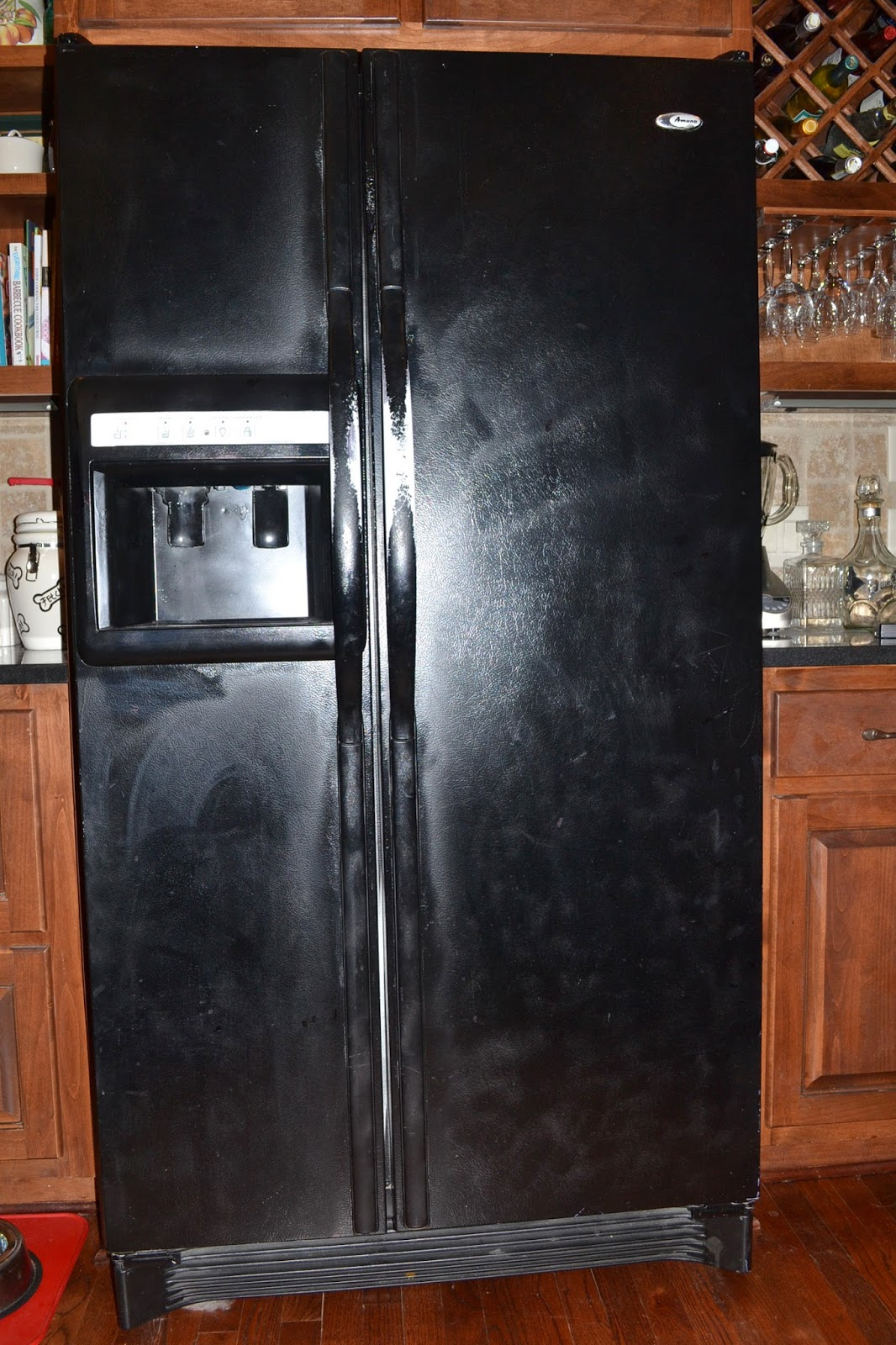Southern Accents Refrigerator Gone Black