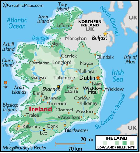 Cartina Politica Dell Irlanda.Geografia Turistica 4p Dell Ipc Marco Polo Di Ventimiglia Itinerario Dell Irlanda A Cura Di Erika Taggiasco