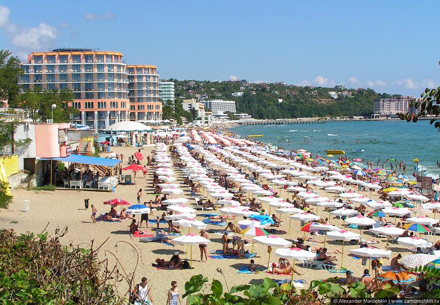 Пляж у отеля Азалия, Св. св. Константин и Елена, Болгария