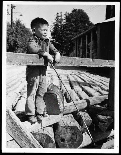 Neil Young, Tasche, 1950