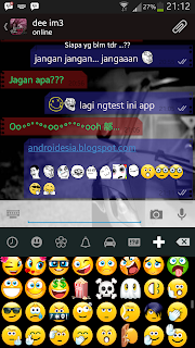 tampilan screenshot whatsApp+ Plus Android