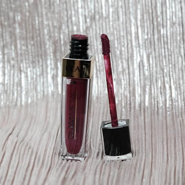 Hean Glam Metal Mousse Lipstick 508 Rubin Fire