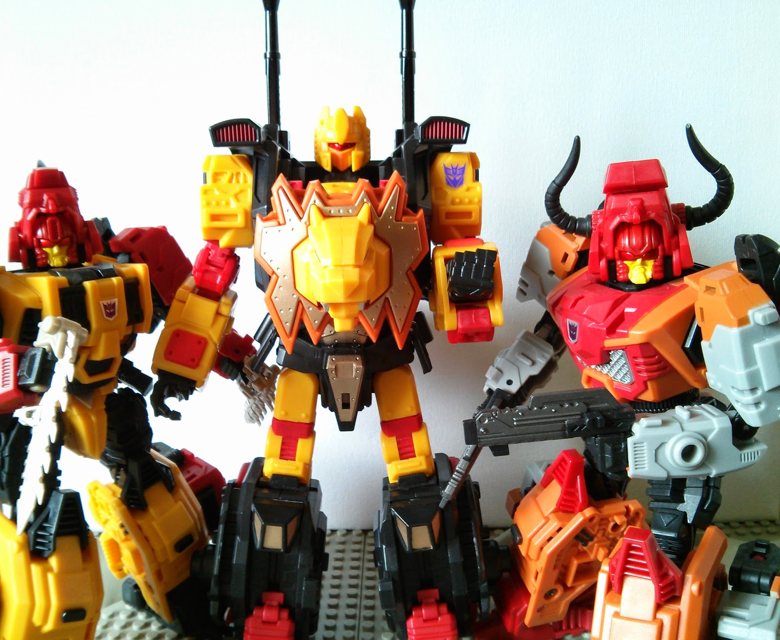 3 OF mmc's feral rex members