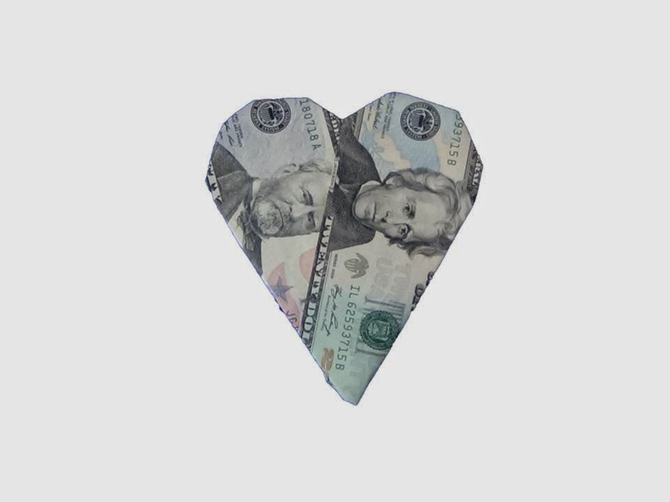 How to Fold a Dollar Into a Heart (with Pictures) - wikiHow   720x960