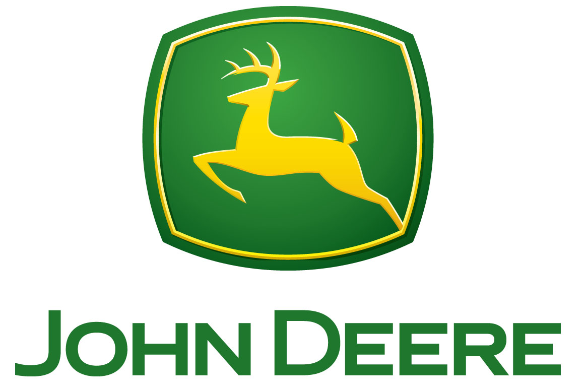 John Deere Logo Vector on high voltage power line graphic