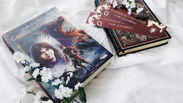 conto de dragoes, fabi zambelli, livro, books, resenha, literatura nacional, literatura brasileira, novo seculo, eu leio nacionais