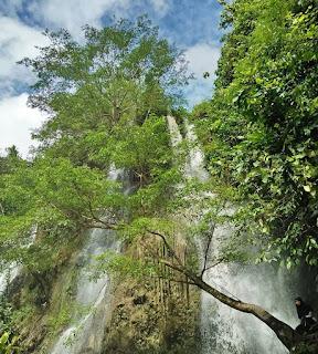 Air Terjun Sri Gethuk yang Mempesona