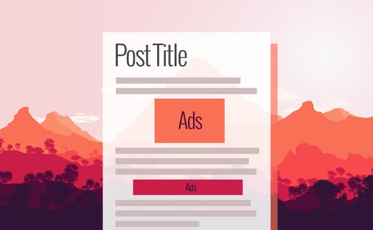 Pasang 2 slot iklan Adsense di tengah postingan