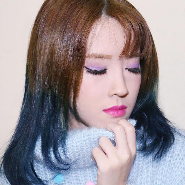 ombre rambut dengan pravana