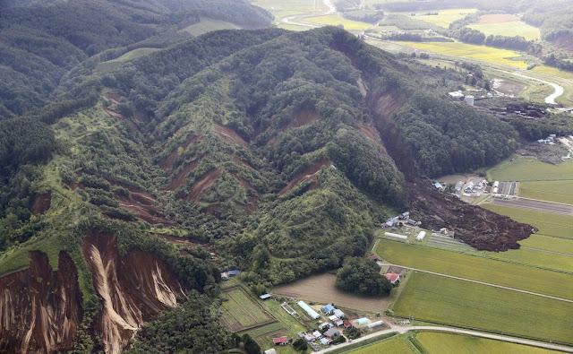 Μετακινήθηκαν βουνά από τον μεγάλο σεισμό 6,6 Ρίχτερ στην Ιαπωνία (βίντεο)