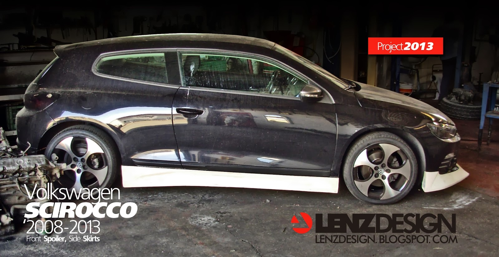 VW Scirocco Body Kit / Lenzdesign Performance Tuning Project