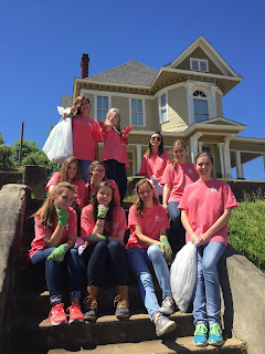 Montgomery Catholic Students Sent to Serve During Lenten Day of Service 4