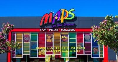 Harga Tiket MAPS Ipoh Perak Terkini 2018