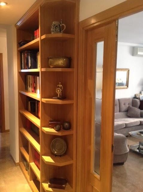 Libreria a medida madrid mueble a medida 617075183 - Muebles de pasillo ...