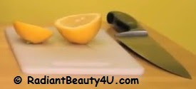 Lemon and oil for dandruff