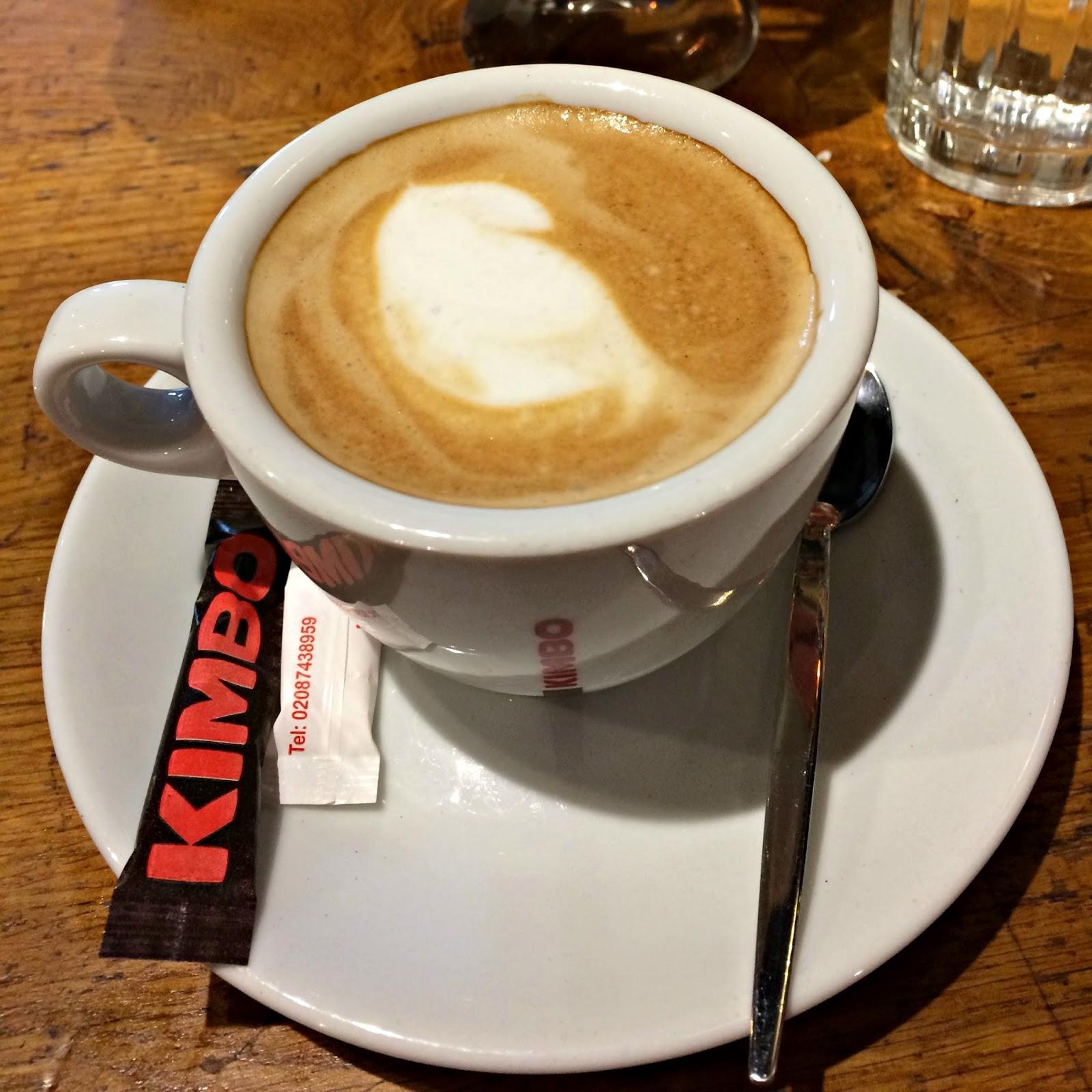 Jamie's Italian Restaurant Flat White Coffee