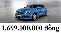 Bảng thông số kỹ thuật Mercedes A250