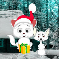 Games2rule Christmas Cat and Mouse Fiction Escape