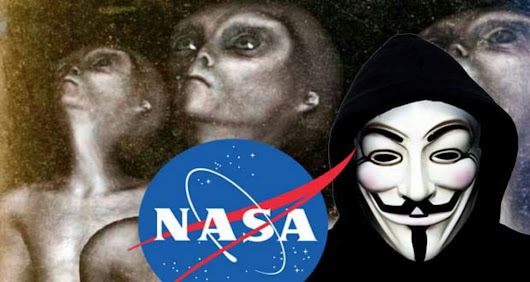 WATCH: Anonymous Claims NASA Nearly to Announce the Existence of Alien Life