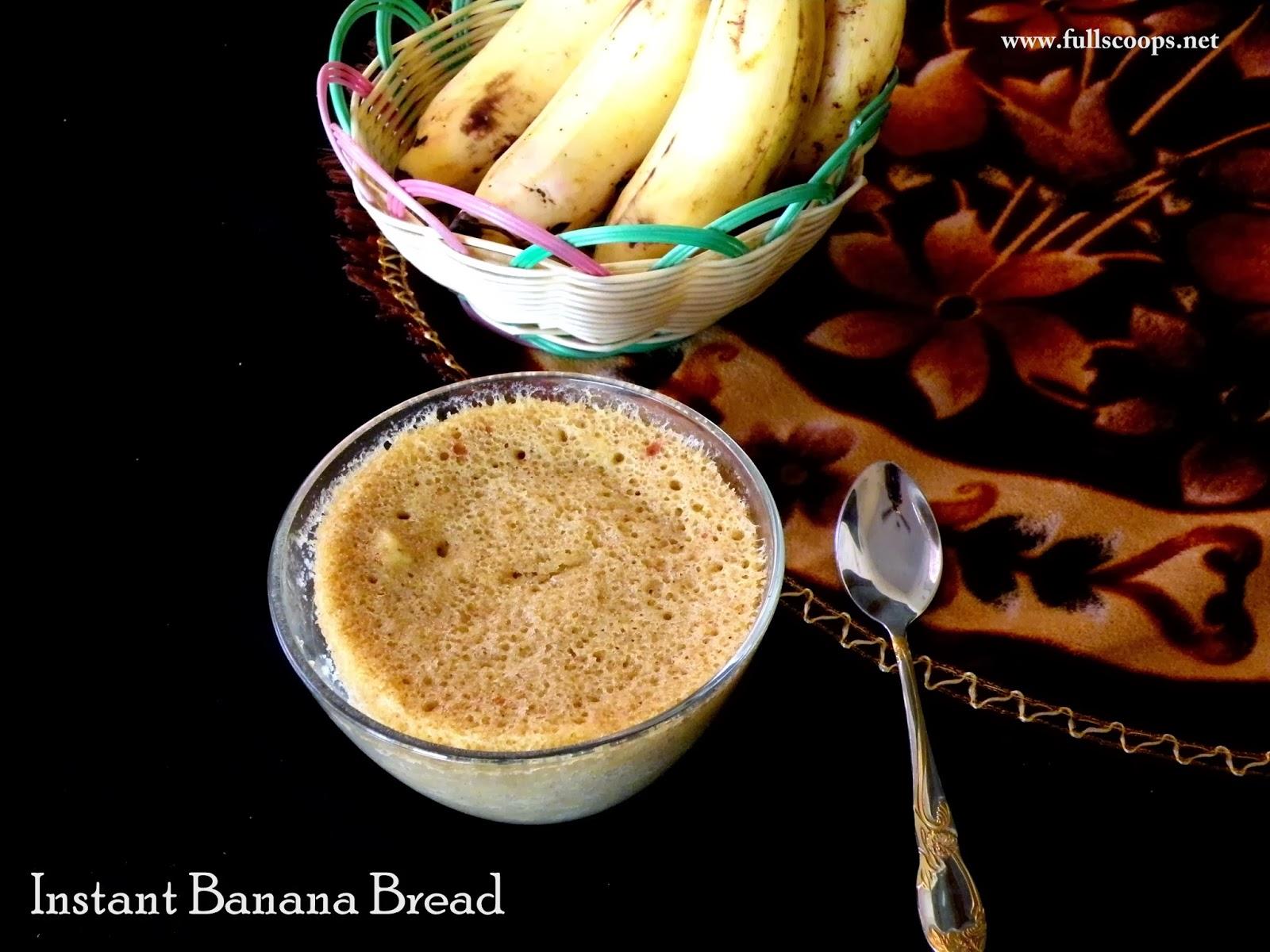 Instant Banana Bread