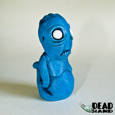 Teuth Blue Resin Figure by Lysol