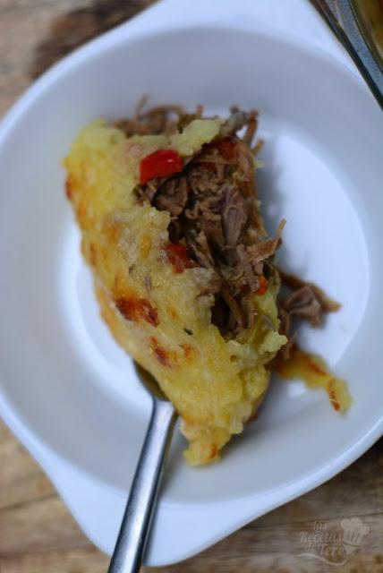 Molde de patatas y carne mechada 03