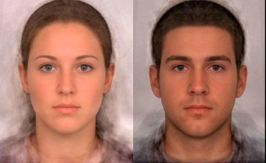 Average Caucasian Woman And Man-5658
