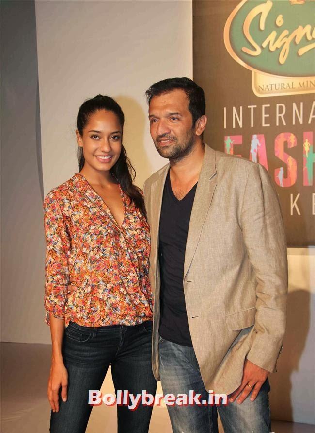 Lisa Haydon and Atul Kasbekar, Hot Celebs at Signature International Fashion Weekend
