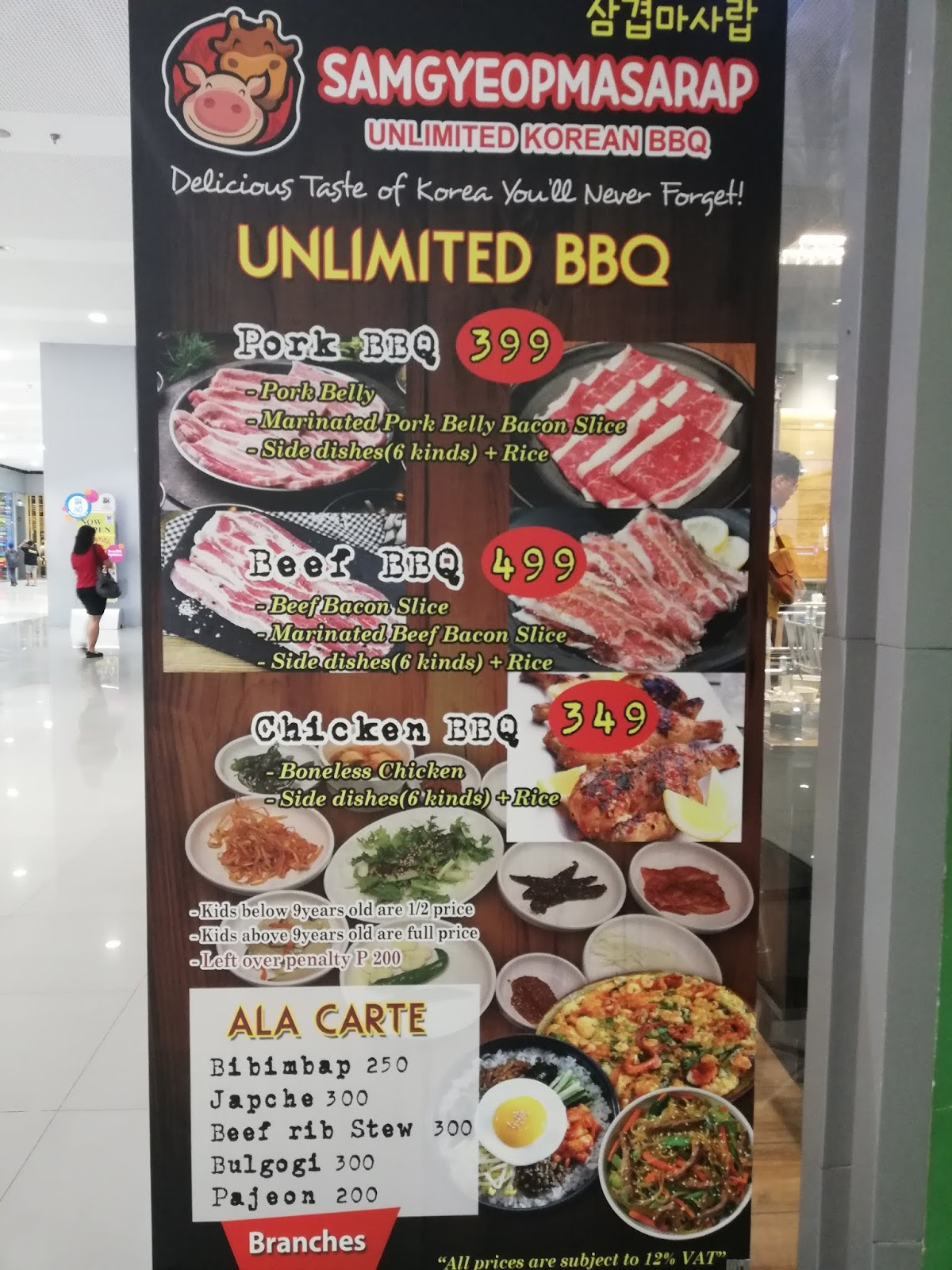 Welp Dining Review: Samgyeopmasarap Unlimited Korean BBQ UT-61