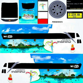 Download Livery Bus Indoesia