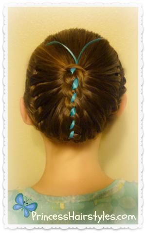 Surprising Hairstyles For Girls Princess Hairstyles Easter Short Hairstyles Gunalazisus