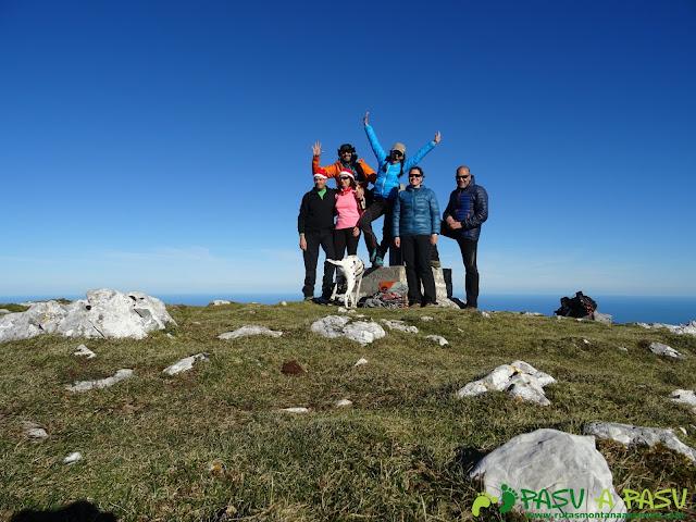 Cima del Pico Liño, en el Cuera
