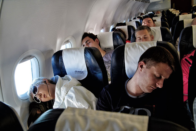 Good Night Rest on a Plane