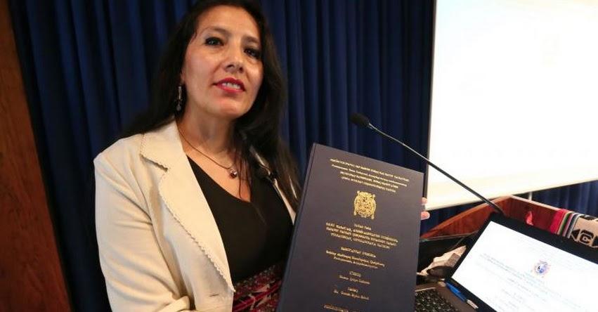 Prensa de Uruguay destaca la primera tesis doctoral en quechua en la universidad San Marcos