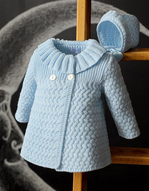 Beautiful Coat - Free Knitting Pattern