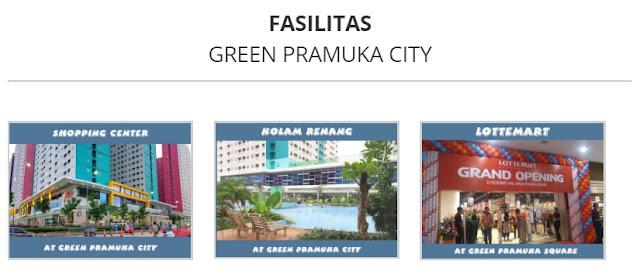 Fasilitas Apartemen Green Pramuka City
