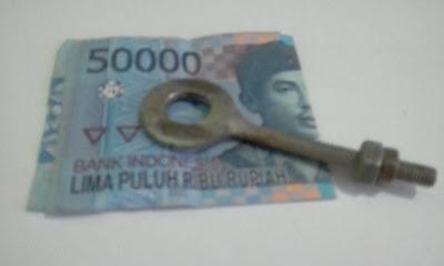 Kejujuranku di uji dengan uang lima puluh ribu rupiah