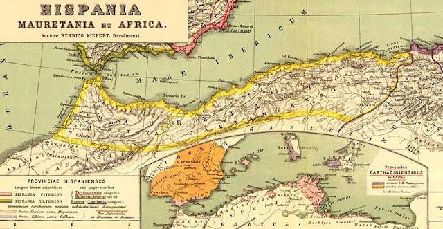 موريتانيا، دولة يوبا الثاني الشرشالي