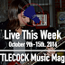 Live This Week: October 9th-15th, 2016