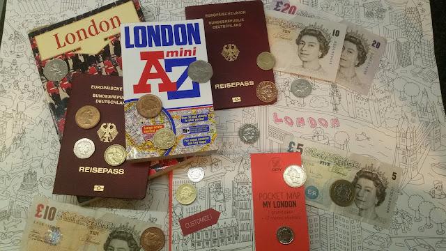 Reisevorbereitungen: Mama-Tochter-Trip in London