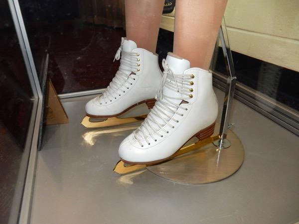 I Tonya costume ice skates