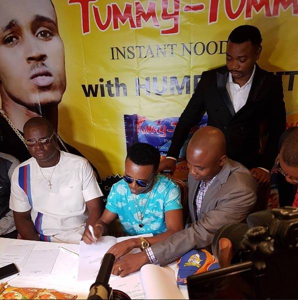 Humblesmith bags first endorsement deal, becomes Tummy Tummy Noodles ambassador