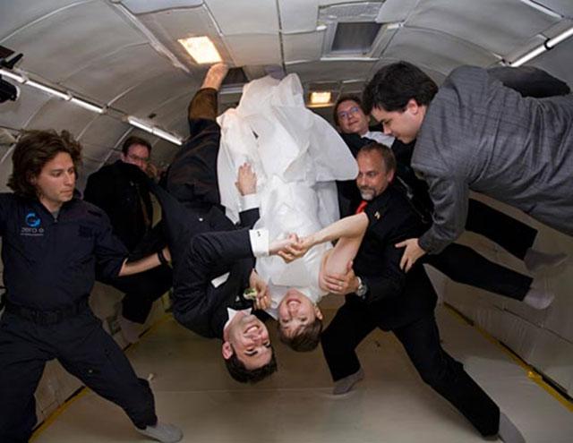 Pernikahan anti gravitasi