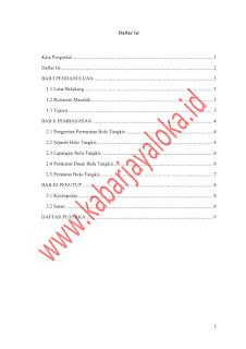 Contoh Makalah Penjas Tentang Badminton atau Bulutangkis Docs