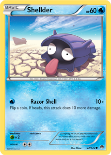 Shellder BREAKpoint Pokemon Card