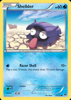 Shellder BREAKpoint Pokemon Card