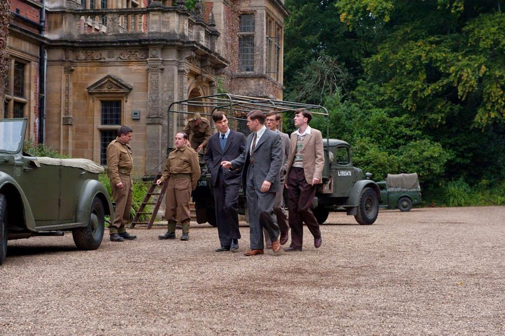 the imitation game-benedict cumberbatch-allen leech-james northcote-matthew beard