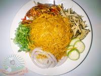 African Salad ,Abacha and Ugba, Nigerian african salad