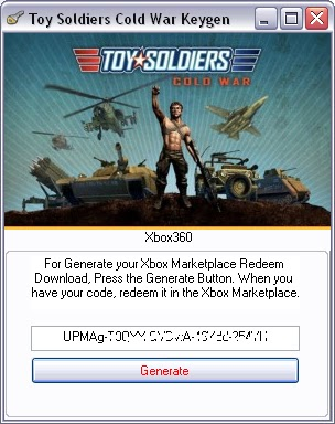 Toy Soldiers Cold War Keygen Download For Xbox 360..!!!